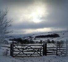 fields near Wycoller by paul edmondson