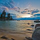 Beautiful Lake Tahoe, Nevada by Dianne Phelps