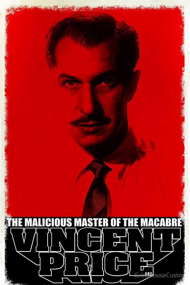 Vincent Price by GrindhouseCustm