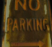 No Parking by Guy Ricketts