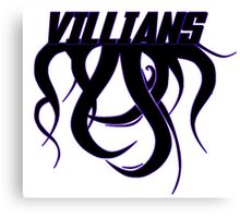 Villians Canvas Print