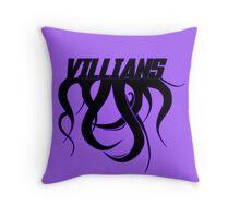 Villians Throw Pillow
