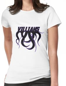 Villians Womens Fitted T-Shirt
