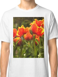Spring Tulip Blossoms Classic T-Shirt