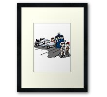 Doctor Meets Doctor Framed Print
