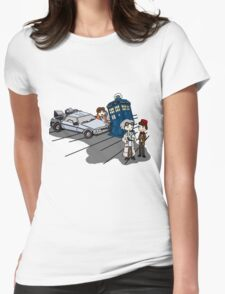 Doctor Meets Doctor Womens Fitted T-Shirt