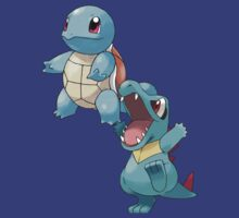 Squirtle & Totodile by Stephen Dwyer