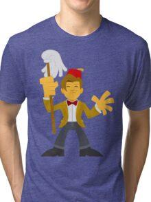 """""""Matty Doctor Fezzy"""" Sticker Tri-blend T-Shirt"""