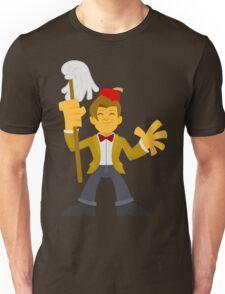 """Matty Doctor Fezzy"" Sticker Unisex T-Shirt"