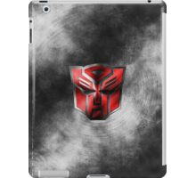 Autobot Symbol - Damaged Metal 1 iPad Case/Skin