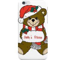 Christmas Teddy Bear iPhone Case/Skin