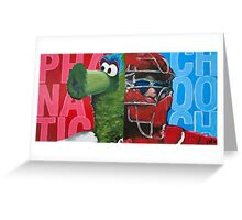 Phanatic and Chooch Diptych Painting Greeting Card