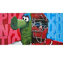 Phanatic and Chooch Diptych Painting Photographic Print
