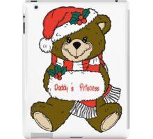 Christmas Teddy Bear iPad Case/Skin