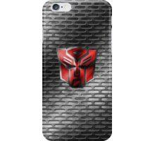 Autobot Symbol - Damaged Metal 2 iPhone Case/Skin