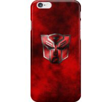 Autobot Symbol - Damaged Metal 3 iPhone Case/Skin