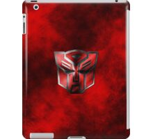 Autobot Symbol - Damaged Metal 3 iPad Case/Skin