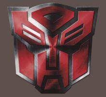 Autobot Symbol - Damaged Metal 4 Kids Clothes