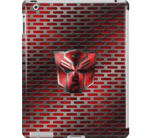 Autobot Symbol - Damaged Metal 4 iPad Case/Skin