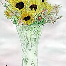 Sunflowers From Sue by Anne Gitto