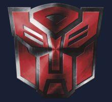 Autobot Symbol - Damaged Metal 5 Kids Tee