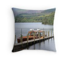 Keswick Ferry Throw Pillow