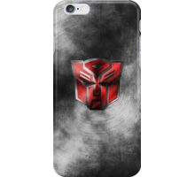 Autobot Symbol - Damaged Metal 1 iPhone Case/Skin