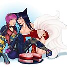 Ahri&#x27;s Birthday Cake by Eren