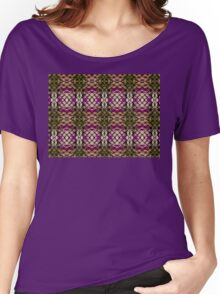Intricate grid Women's Relaxed Fit T-Shirt