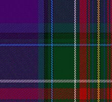 02181 Twilight Indigo, (Unidentified #3) Artefact Tartan Fabric Print Iphone Case by Detnecs2013