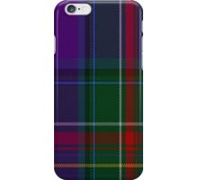 02181 Twilight Indigo, (Unidentified #3) Artefact Tartan Fabric Print Iphone Case iPhone Case/Skin