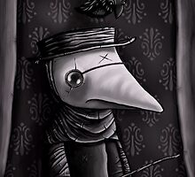 The Plague Doctor by Michael Bombon