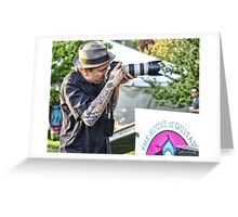 The Tattoed Photographer Greeting Card