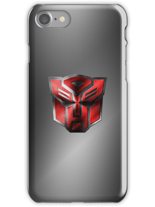 Autobot Symbol - Brushed Metal 4 by Jeffery Borchert