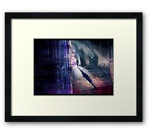On the trail... Framed Print