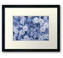 bouquet ver.blue Framed Print
