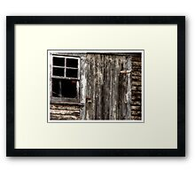 Protected Property Framed Print