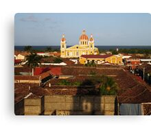 View from Iglesia La Merced, Granada, Nicaragua Canvas Print