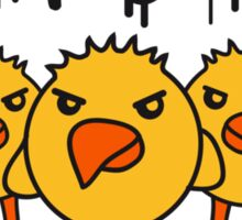 Angry Chicks Sticker