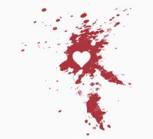 Heart Splatter by babydollchic