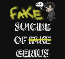 Fake suicide of genius. by Baghrirella