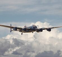 RAF Avro Lancaster  by Pat Speirs
