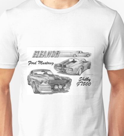 FORD MUSTANG SHELBY GT500 Unisex T-Shirt