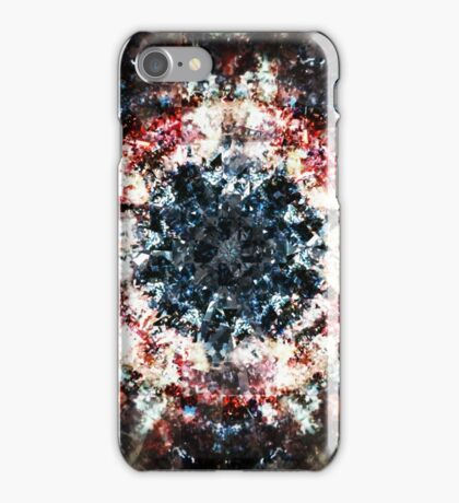 Glitch Kaleidoscope #1 iPhone Case/Skin