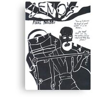 Zeno's Final Paradox Canvas Print