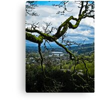 the crossing 2 Canvas Print