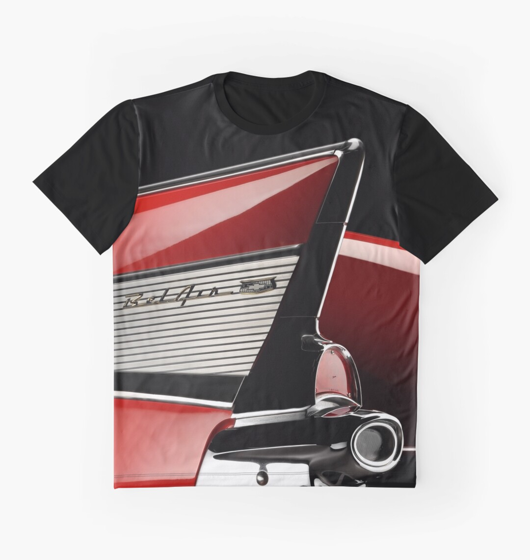 1957 chevrolet bel air graphic t shirts by. Black Bedroom Furniture Sets. Home Design Ideas