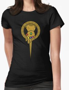 The Hand Of Infinity Womens Fitted T-Shirt