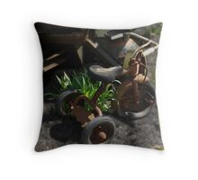 Old Trike Throw Pillow