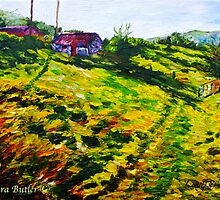 The Old Cottage at Straidkilly, Glencloy, County Antrim by Laura Butler